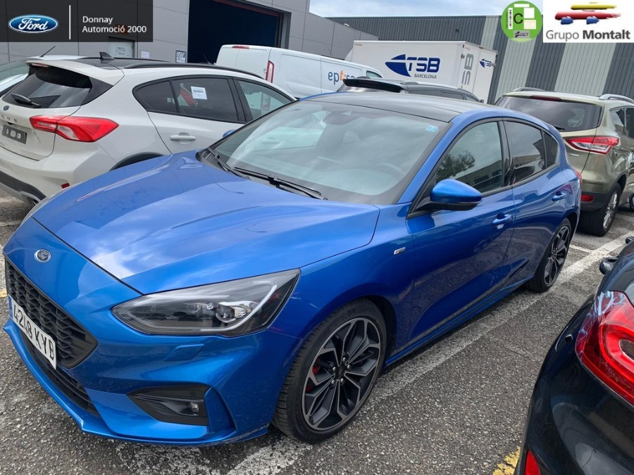 FORD Focus Azul Gasolina Manual Berlina 5 puertas 2019
