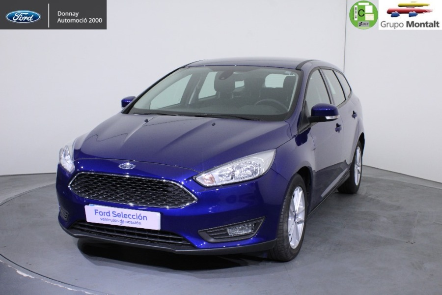 FORD Focus Azul Gasolina Manual Familiar 5 puertas 2018