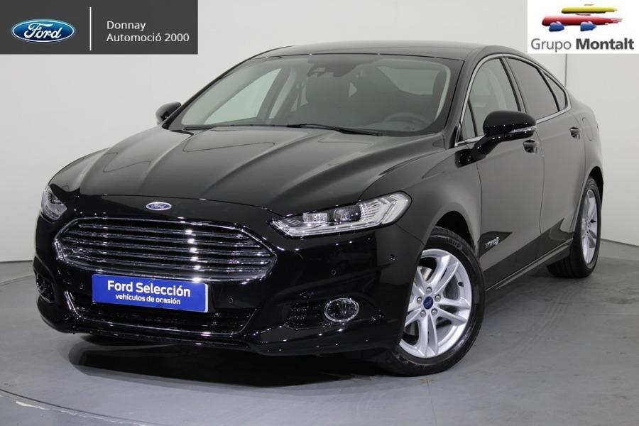 FORD Mondeo Negro Eléctrico / Híbrido Automático Berlina 4 puertas 2019