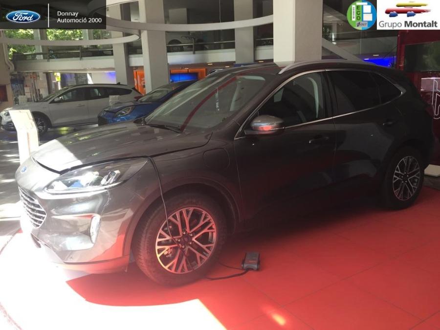 FORD Kuga Negro Eléctrico / Híbrido Automático 4x4 SUV 5 puertas 2020