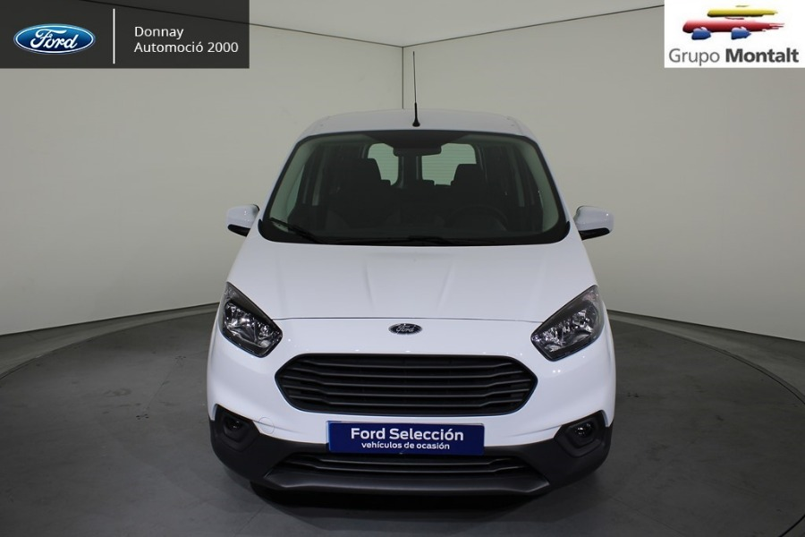 FORD Transit Courier Blanco Gasolina Manual Industriales 4 puertas 2018