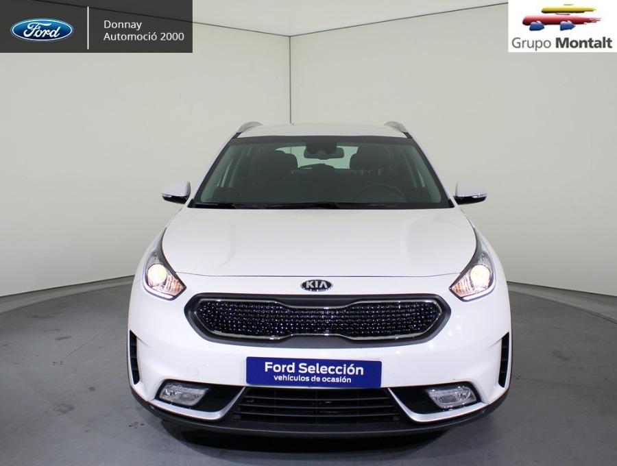 KIA Niro Blanco Eléctrico / Híbrido Automático Berlina 5 puertas 2018
