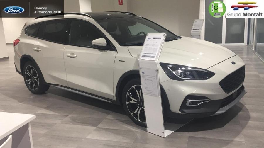 FORD Focus Blanco Diesel Automático Familiar 5 puertas 2020