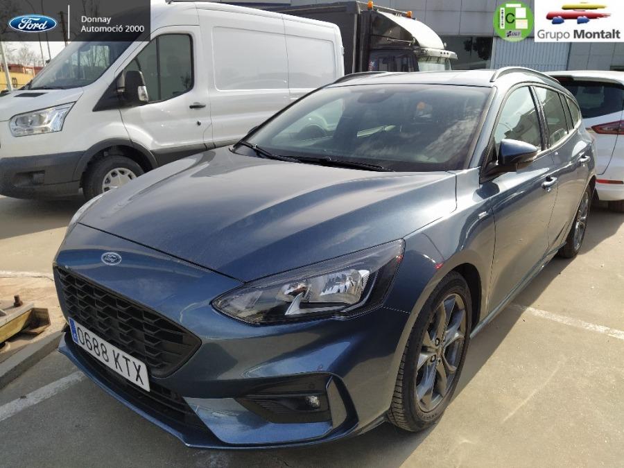 FORD Focus Azul Gasolina Automático Familiar 5 puertas 2019