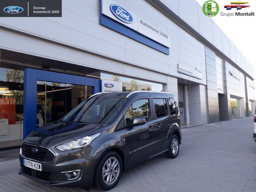 FORD Tourneo Connect Gris / Plata Diesel Automático Monovolúmen 5 puertas 2019