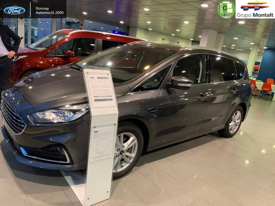 FORD S-MAX Gris / Plata Diesel Manual Monovolúmen 5 puertas 2020
