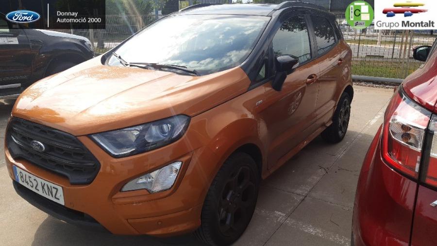 FORD EcoSport Naranja Gasolina Manual 4x4 SUV 5 puertas 2018