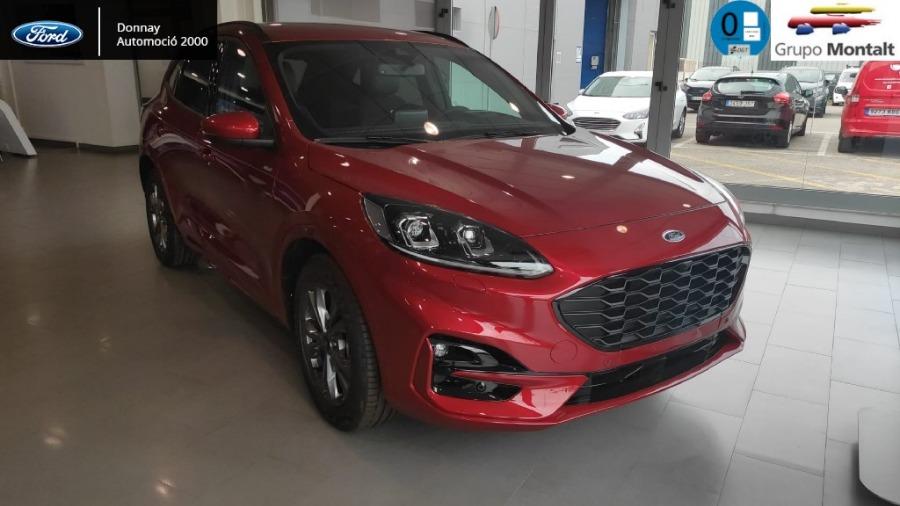 FORD Kuga Rojo Eléctrico / Híbrido Automático 4x4 SUV 5 puertas 2020