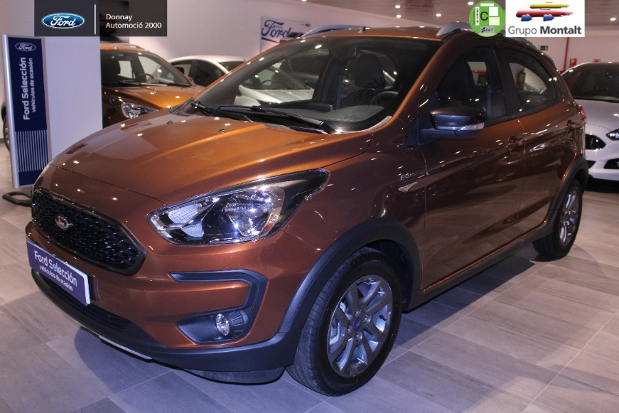 FORD Ka+ Marrón Gasolina Manual Berlina 5 puertas 2019