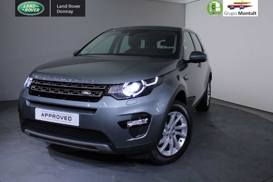 LAND ROVER Discovery Sport Gris / Plata Diesel Automático 4x4 SUV 5 puertas 2016