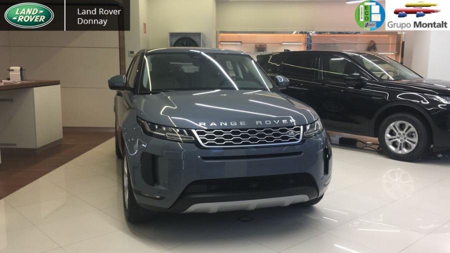 LAND ROVER Range Rover Evoque Gris / Plata Eléctrico / Híbrido Automático 4x4 SUV 5 puertas 2021