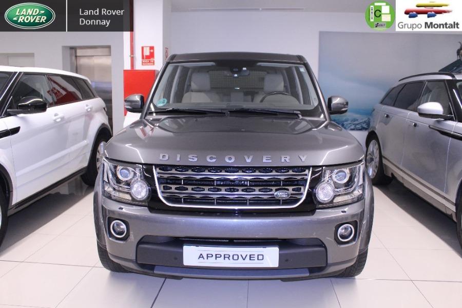 LAND ROVER Discovery 4 Gris / Plata Diesel Automático 4x4 SUV 5 puertas 2015