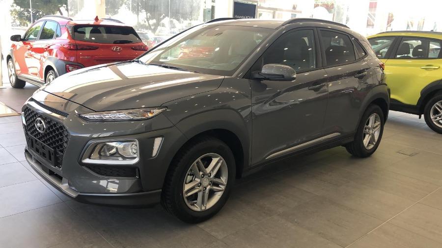 HYUNDAI Kona Gris / Plata Gasolina Manual 4x4 SUV 5 puertas 2019