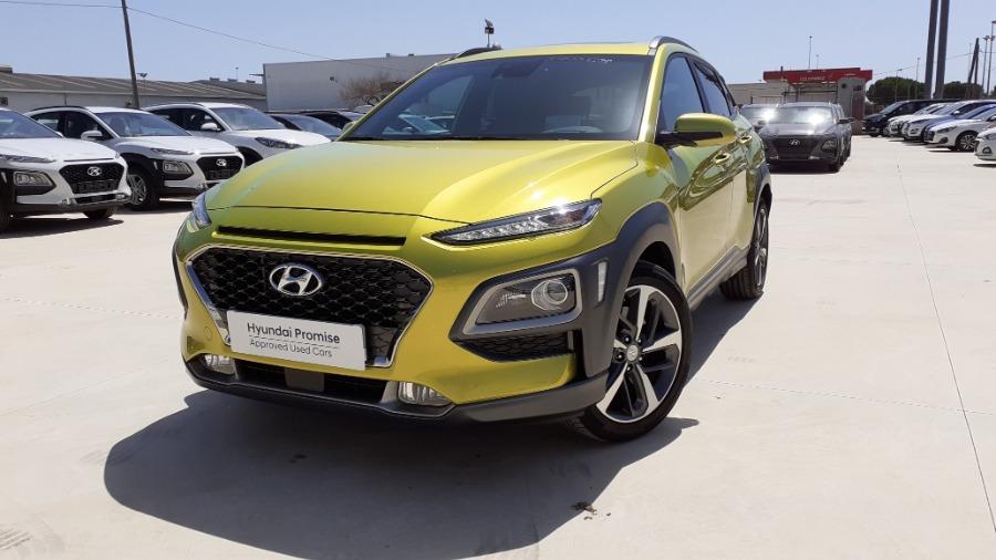 HYUNDAI Kona Verde Gasolina Automático 4x4 SUV 5 puertas 2019