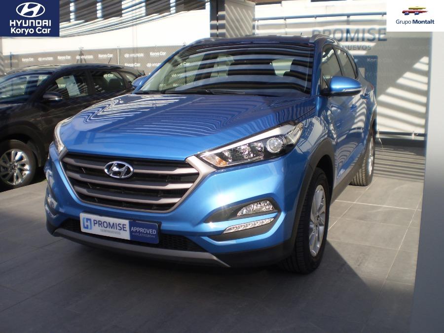 HYUNDAI TUCSON Azul Diesel Manual 4x4 SUV 5 puertas 2017