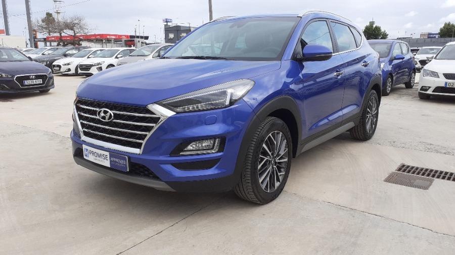 HYUNDAI TUCSON Azul Gasolina Automático 4x4 SUV 5 puertas 2019