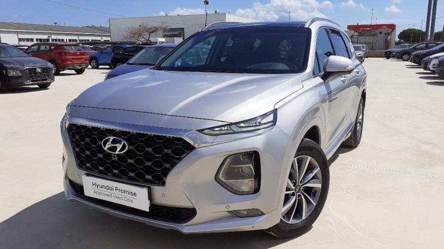 HYUNDAI Santa Fe Gris / Plata Diesel Automático 4x4 SUV 5 puertas 2020