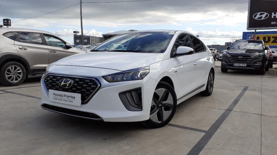 HYUNDAI IONIQ Blanco Eléctrico / Híbrido Automático Berlina 5 puertas 2020