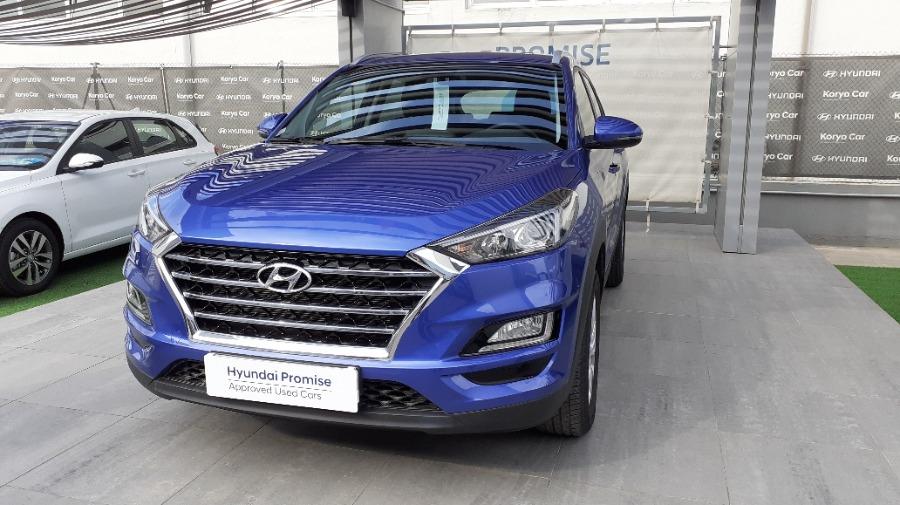 HYUNDAI TUCSON Azul Diesel Manual 4x4 SUV 5 puertas 2020