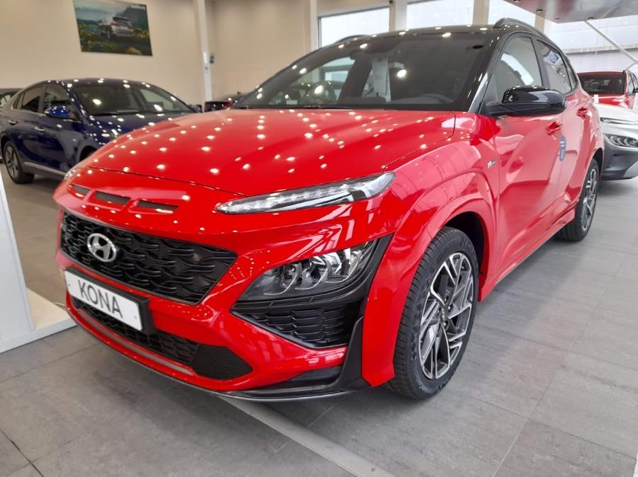 HYUNDAI Kona Rojo Eléctrico / Híbrido Manual 4x4 SUV 5 puertas 2021