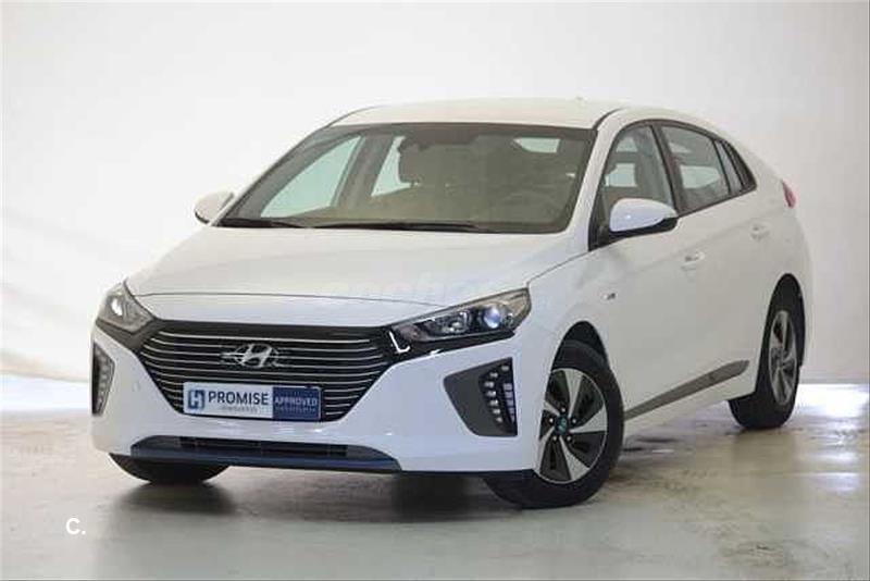 HYUNDAI IONIQ Blanco Eléctrico / Híbrido Automático Berlina 5 puertas 2019