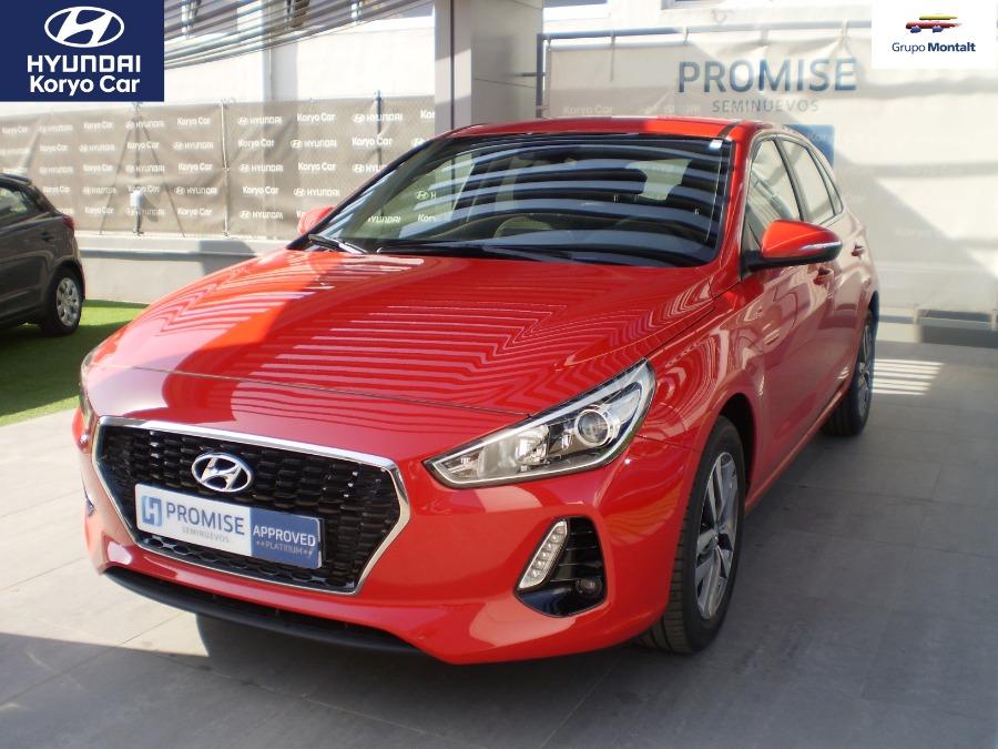 HYUNDAI i30 Rojo Gasolina Manual Berlina 5 puertas 2019
