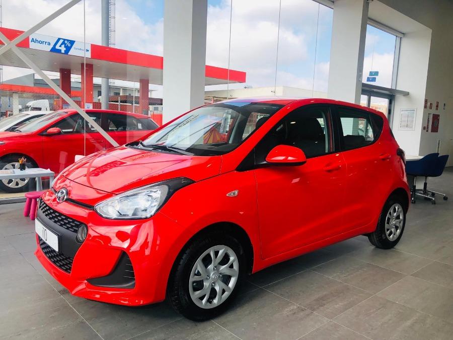 HYUNDAI i10 Rojo Gasolina Manual Berlina 5 puertas 2018