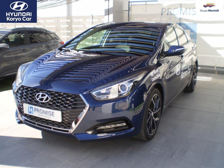 HYUNDAI i40 Azul Gasolina Manual Berlina 4 puertas 2018