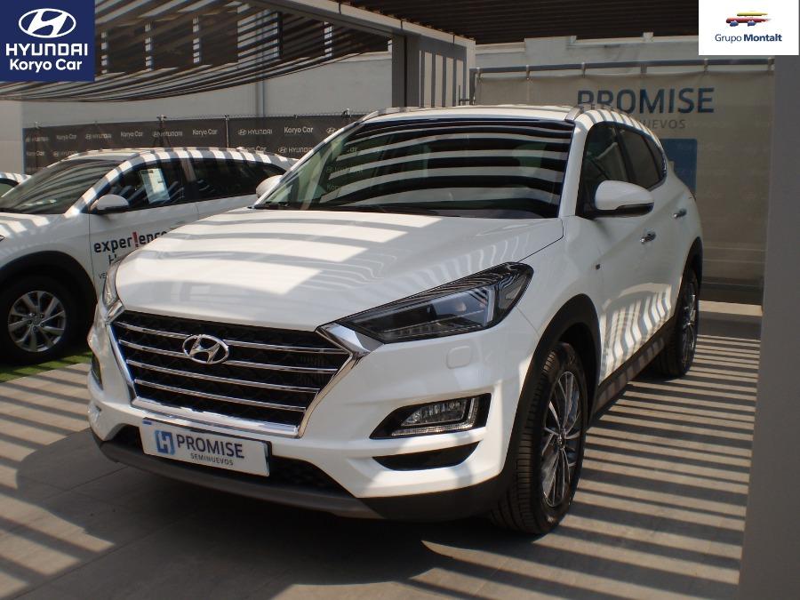 HYUNDAI TUCSON Blanco Eléctrico / Híbrido Automático 4x4 SUV 5 puertas 2019