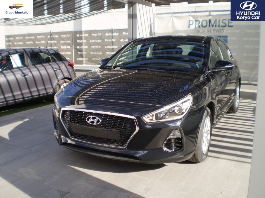 HYUNDAI i30 Negro Gasolina Manual Berlina 5 puertas 2018
