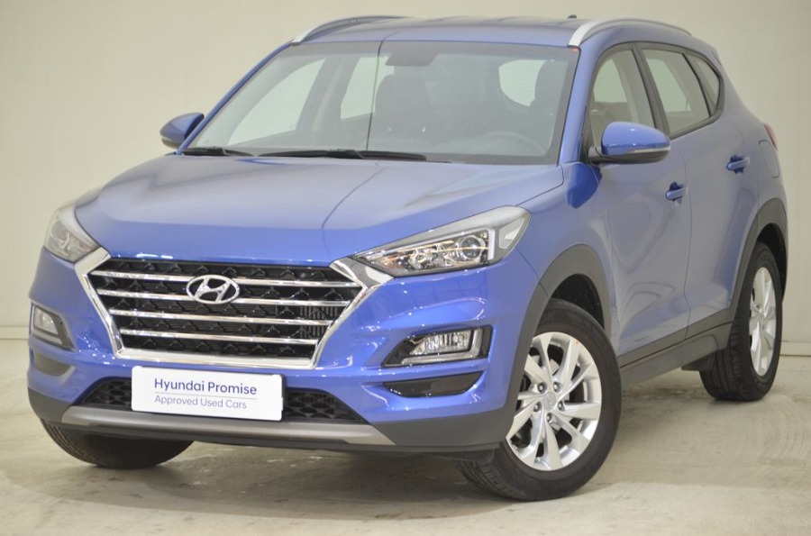 HYUNDAI TUCSON Azul Gasolina Manual 4x4 SUV 5 puertas 2019