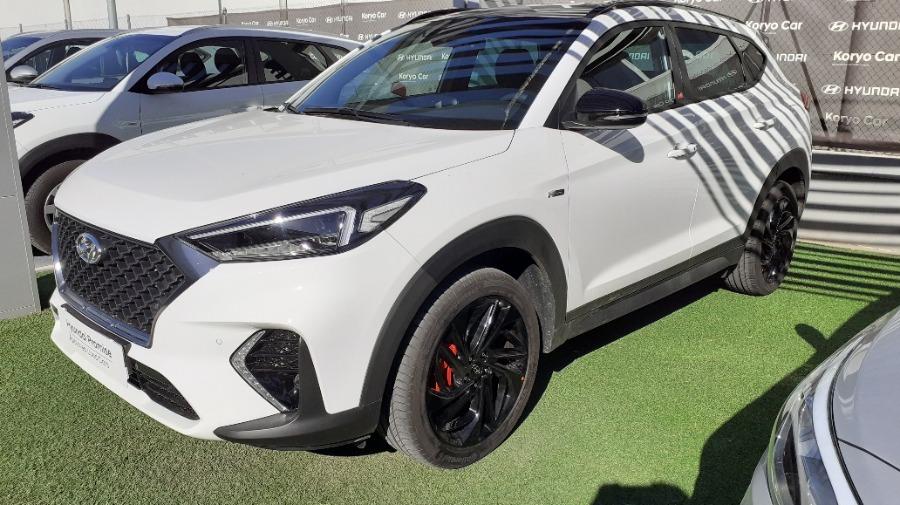 HYUNDAI TUCSON Blanco Diesel Automático 4x4 SUV 5 puertas 2019