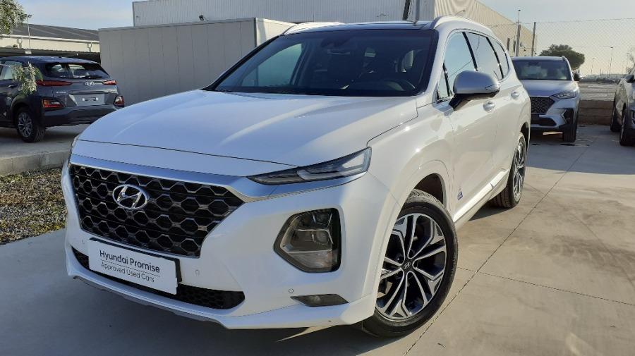 HYUNDAI Santa Fe Blanco Diesel Automático 4x4 SUV 5 puertas 2020