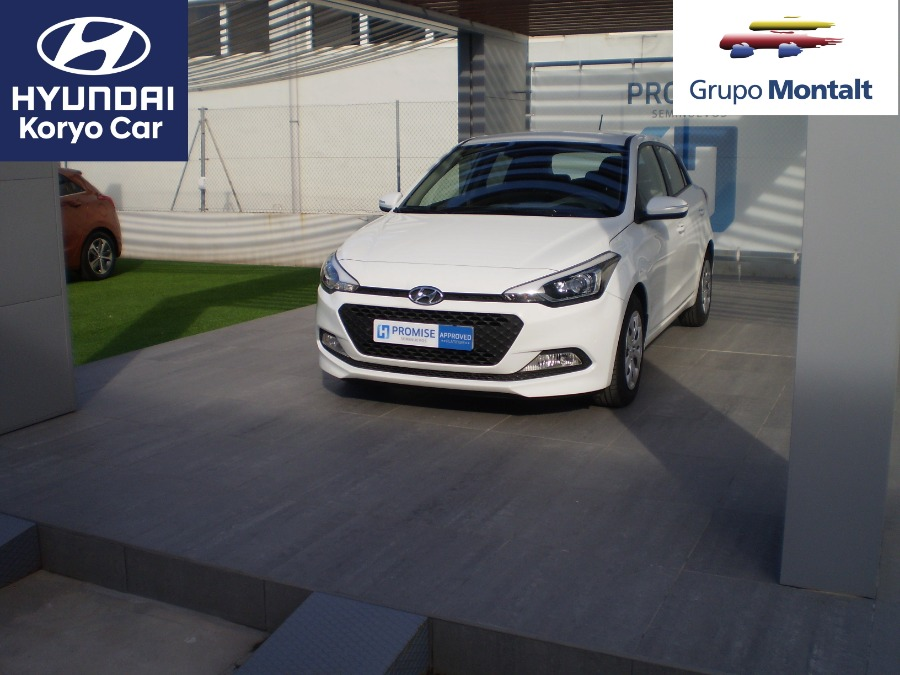 HYUNDAI i20 Blanco Gasolina Manual Berlina 5 puertas 2018