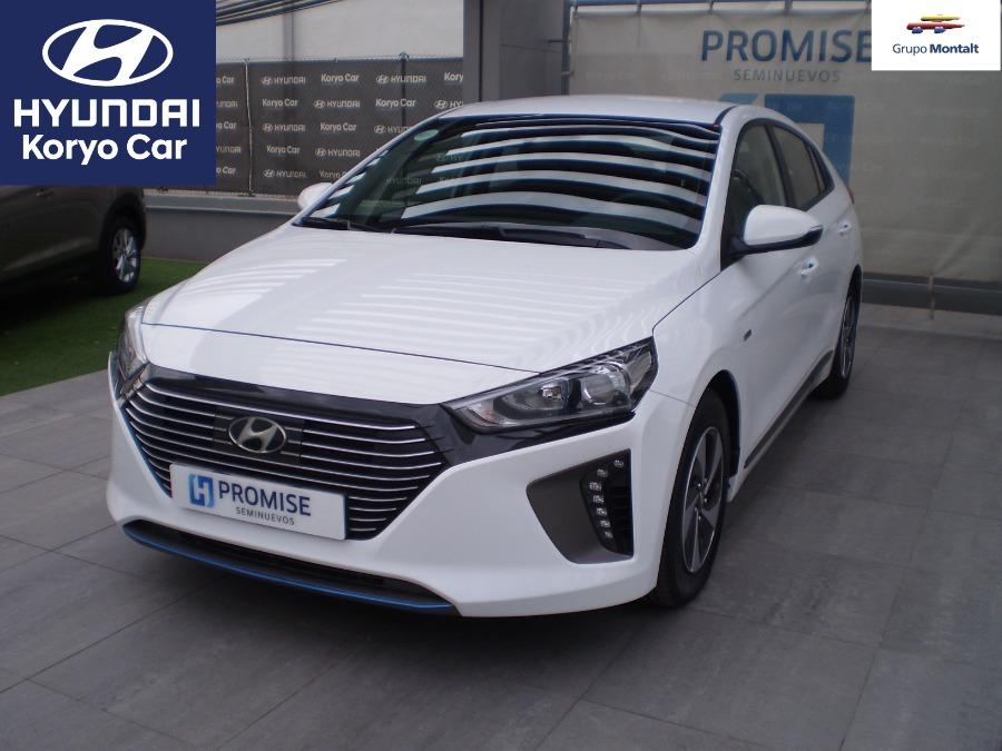 HYUNDAI IONIQ Blanco Eléctrico / Híbrido Automático Berlina 5 puertas 2018
