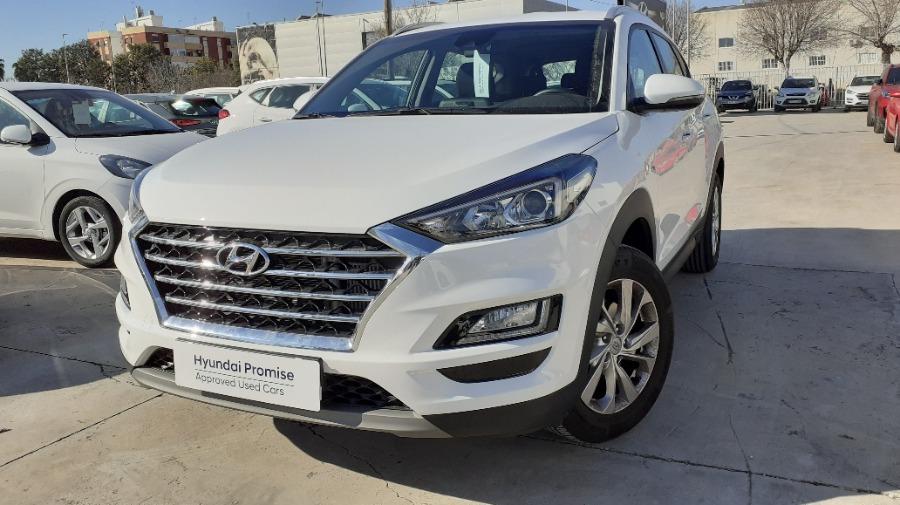 HYUNDAI TUCSON Blanco Diesel Manual 4x4 SUV 5 puertas 2020