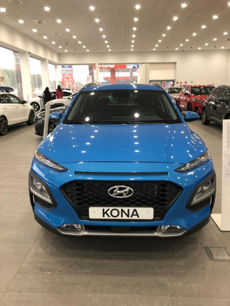 HYUNDAI Kona Azul Gasolina Manual 4x4 SUV 5 puertas 2020