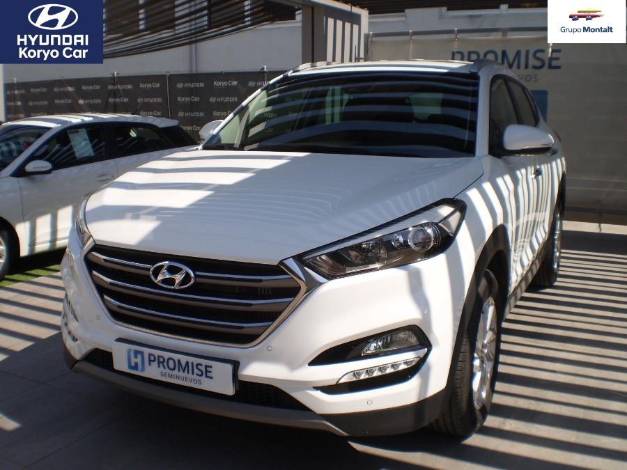 HYUNDAI TUCSON Blanco Diesel Manual 4x4 SUV 5 puertas 2018