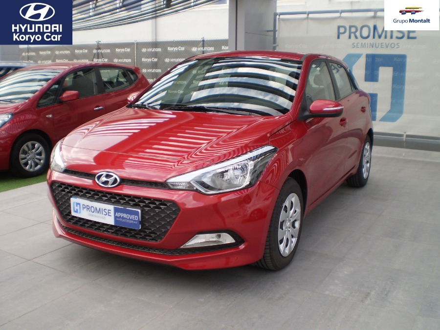 HYUNDAI i20 Rojo Gasolina Manual Berlina 5 puertas 2017