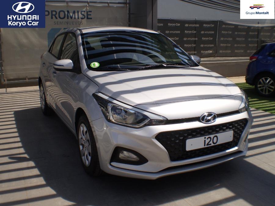 HYUNDAI i20 Gris / Plata Gasolina Manual Berlina 5 puertas 2019