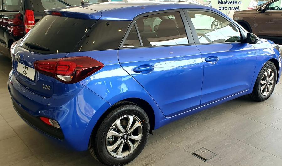 HYUNDAI i20 Azul Gasolina Manual Berlina 3 puertas 2019