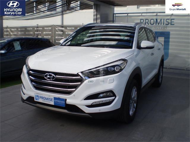 HYUNDAI TUCSON Blanco Gasolina Manual 4x4 SUV 5 puertas 2019
