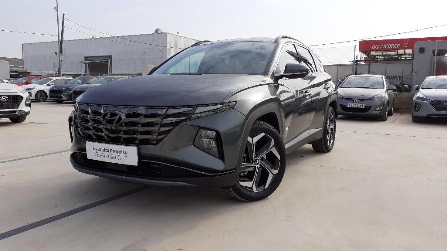 HYUNDAI TUCSON Verde Gasolina Automático 4x4 SUV 5 puertas 2021