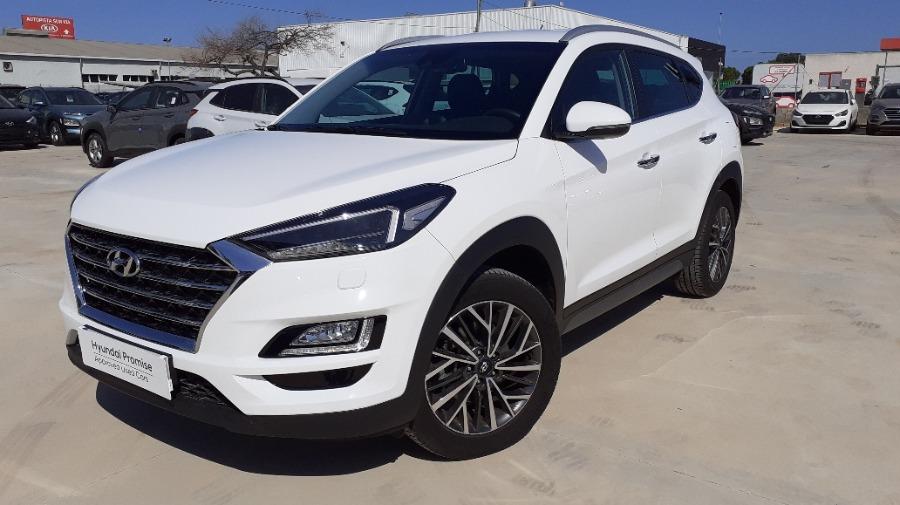 HYUNDAI TUCSON Blanco Gasolina Manual 4x4 SUV 5 puertas 2020
