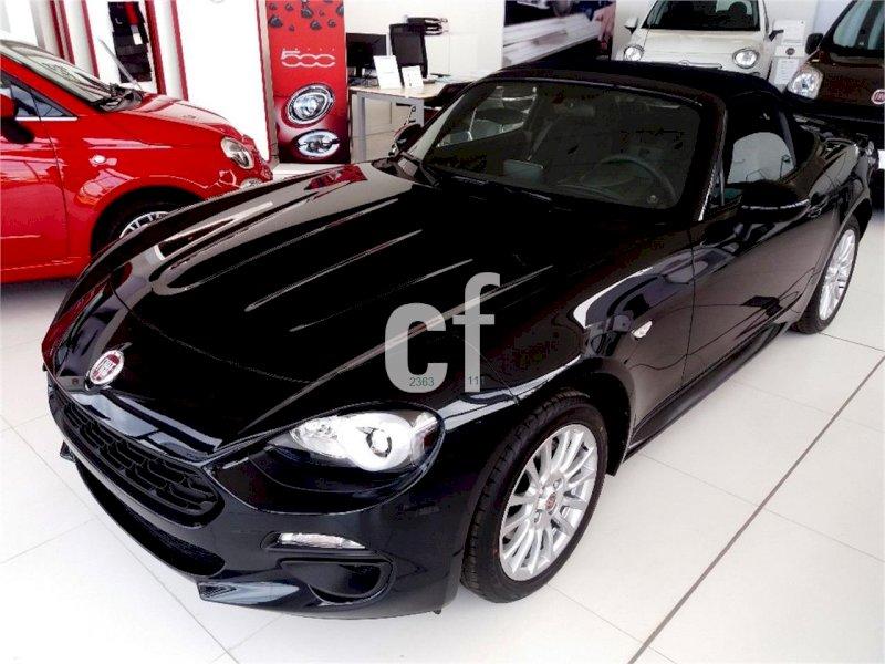 FIAT 124 Spider Negro Gasolina Manual Cabrio 2 puertas 2017