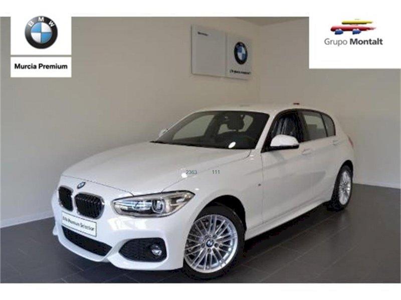 BMW Serie 1 Blanco Diesel Automático Berlina 3 puertas 2017
