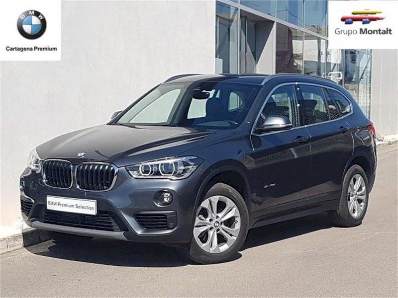 BMW X1 Gris / Plata Diesel Automático 4x4 SUV 5 puertas 2017