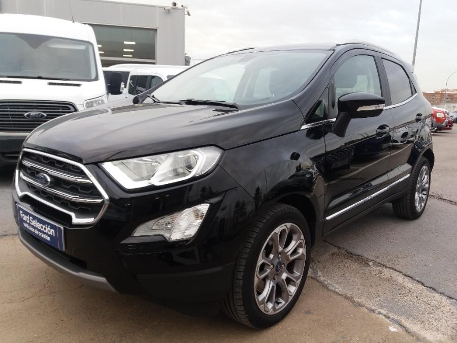 FORD EcoSport Negro Gasolina Automático 4x4 SUV 5 puertas 2019