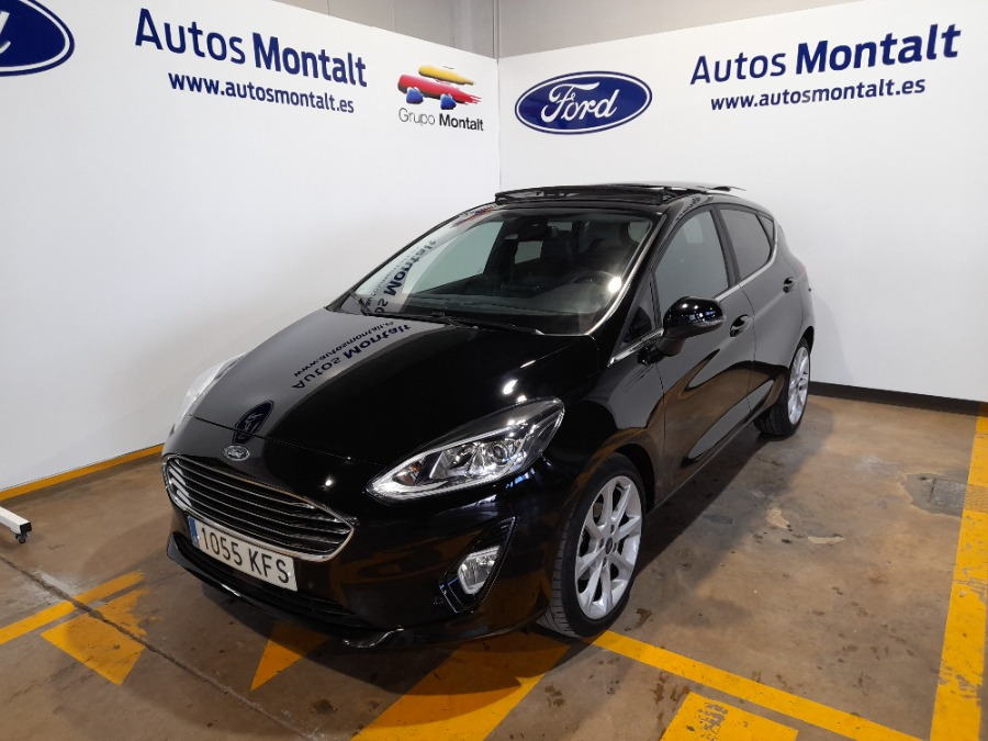 FORD Fiesta Negro Gasolina Manual Berlina 5 puertas 2017