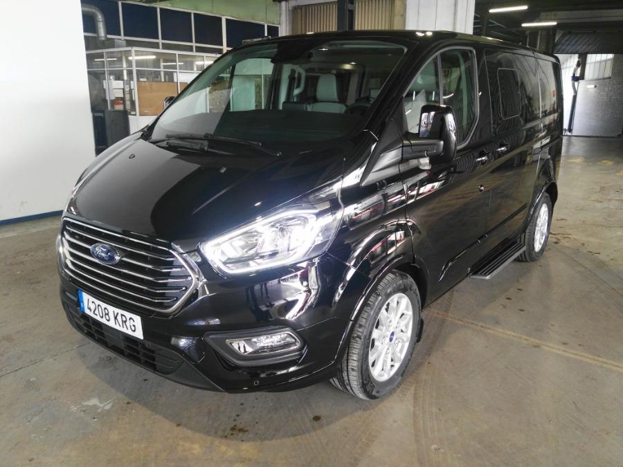 FORD Tourneo Custom Negro Diesel Manual Monovolúmen 5 puertas 2018